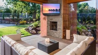 Holmdel NJ Ideas for Outdoor TV Installation