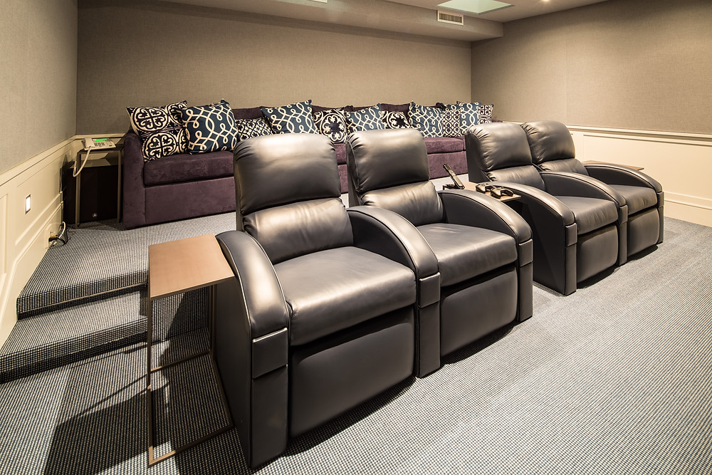 Morris County New Jersey Home Theater Design