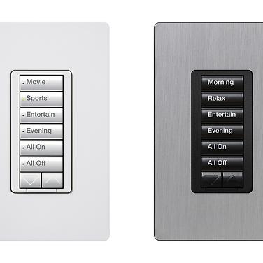 Lutron Radio Ra2 Keypad For Smart Lighting Dealer NJ