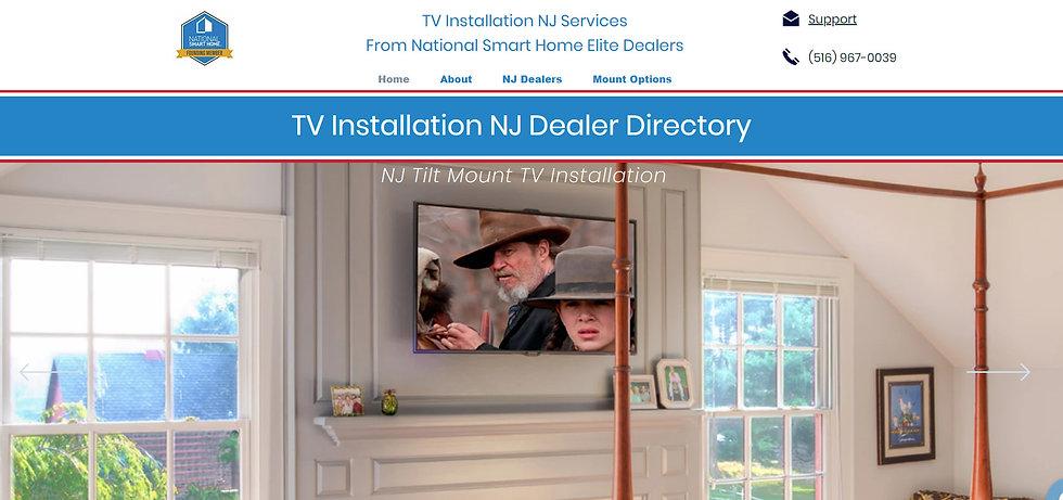 New Jersey TV Installation
