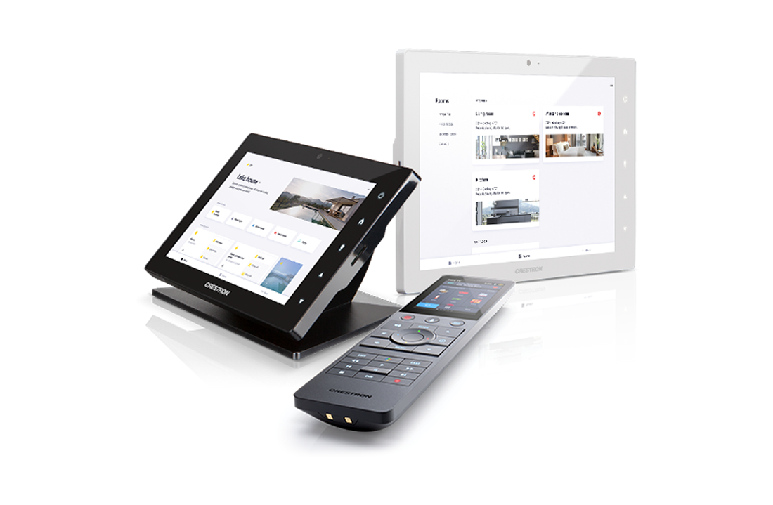 NJ Crestron Touchscreen and Remote Control Dealer