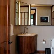 Allen Hurst NJ Bathroom Smart Mirror TV Installation