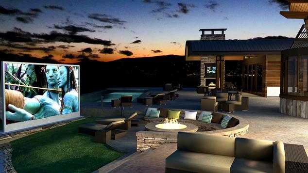 Backyard Projector Screen Dealer NJ