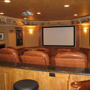 Home Theater For Basement Ideas