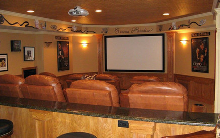 NJ Home Theater Room Red Bank NJ