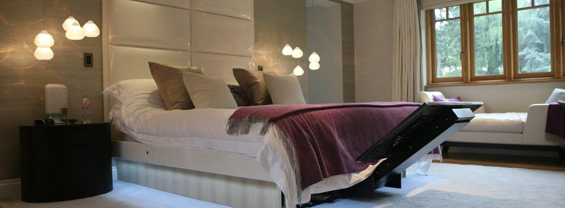 TV Installation Under Bed Lift-Long-Isla