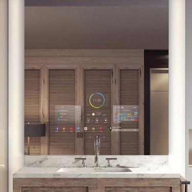 Bathroom Ideas For Smart Mirror TV Installation New Jersey
