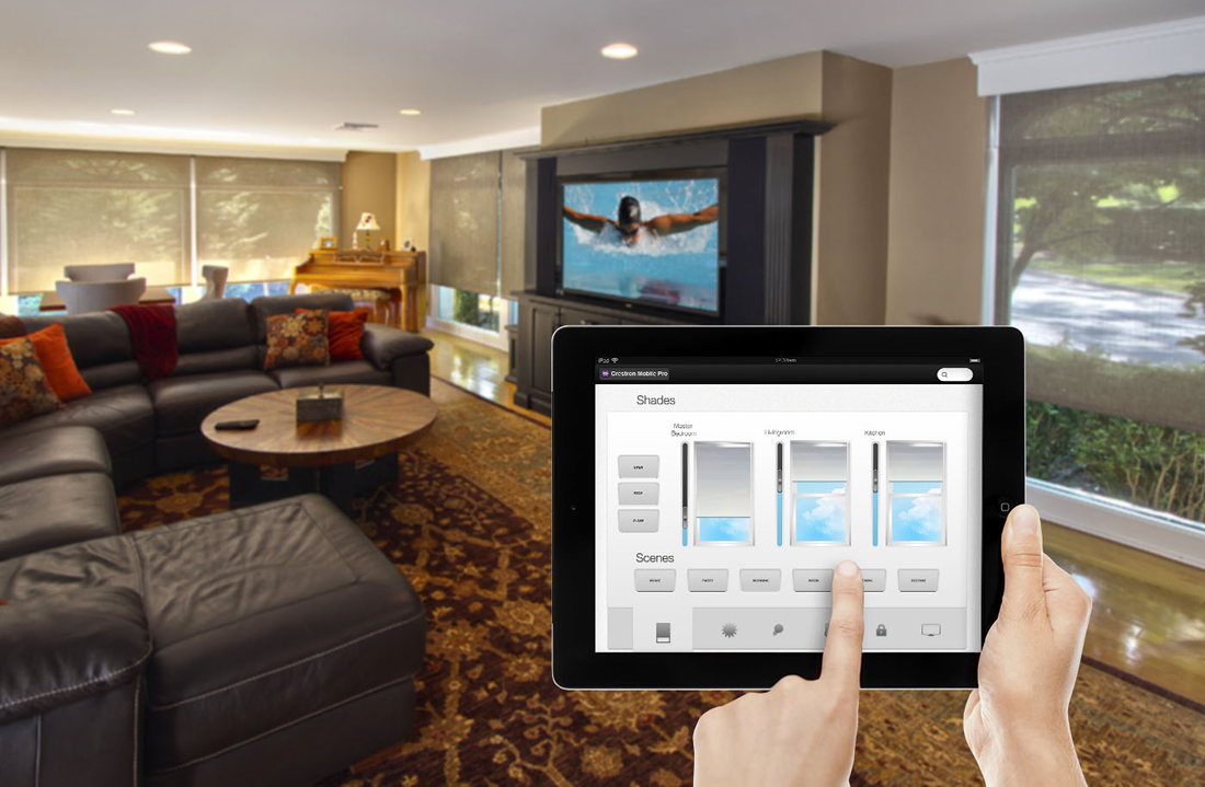 Crestron Home Touchscreen Dealer NJ