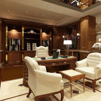 Home Office Ideas With Crestron Home Automation and WiFi Network