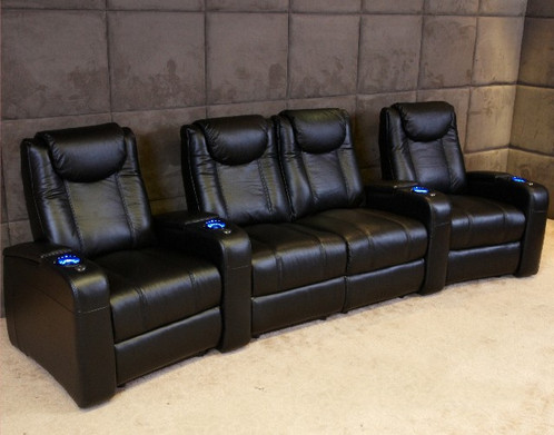Affordable Home Theater Reclining Chair With Motor. Cheapest Best Home  Cinema Seat For The Money