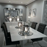 Dining Room Ideas With Invisible Speakers and Lutron Lighting