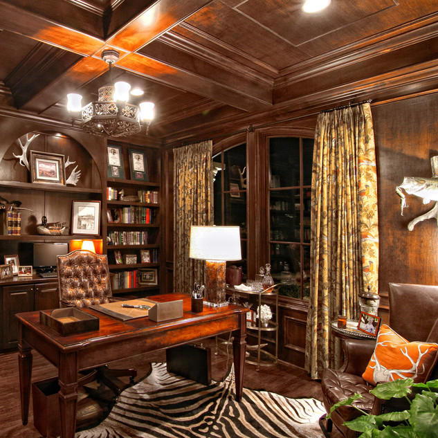 Home Office Ideas With Lutron Lighting And Elan Home Automation New Jersey