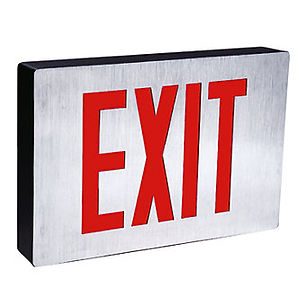 Contemporary NYC Approved Exit Sign