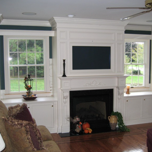 Fireplace Mantle TV Mount Installations