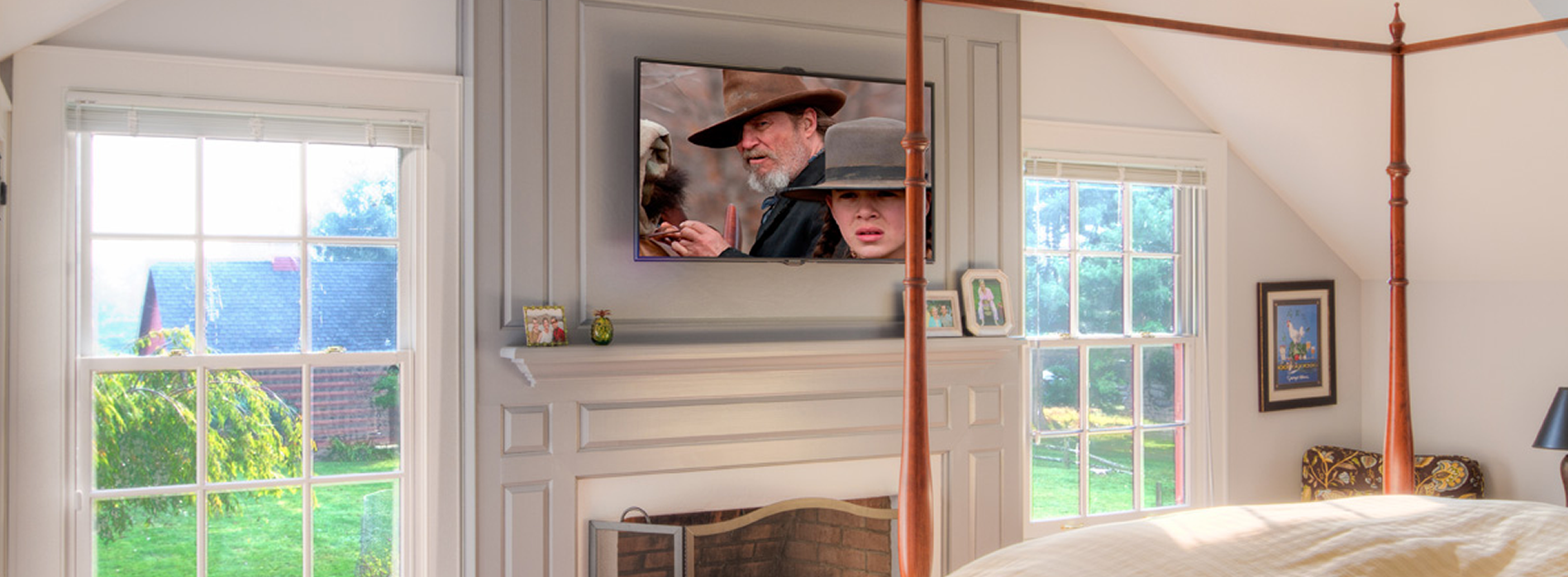 Long-Island-TV Installation Swivel Mount
