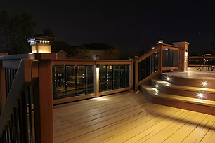 Upper Saddle River NJ Deck and Patio Lighting