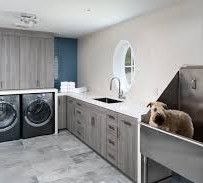 Laundry Room Ideas With Lutron Lighting And Shades