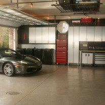 Monmouth County NJ Garage Ideas With Crestron Home Automation And Security Cameras