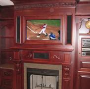 Custom Woodworking Picture Frame Mirror TV Installation NJ