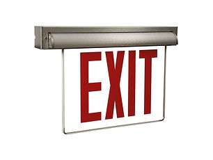 Universal Mount NYC Approved Exit Sign Wholesaler