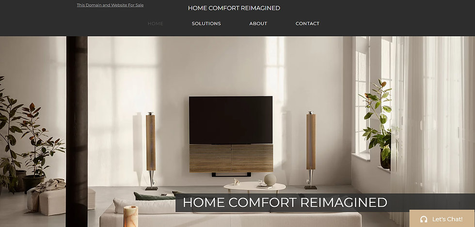 Home Comfort Re-imagined