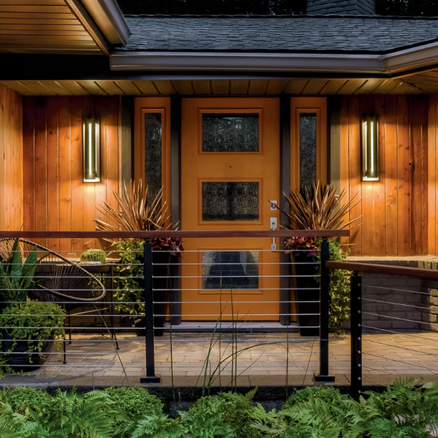 Outdoor Lutron Lighting Design and Video Security Cameras