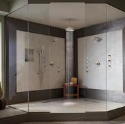 Bathroom Ideas For Shower TV and Speaker Installation Colts Neck NJ