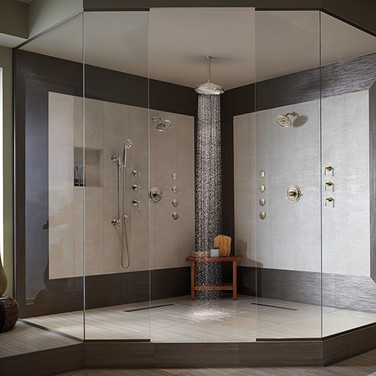 Bathroom Ideas For Shower TV and Speaker Installation Colts Neck NJ