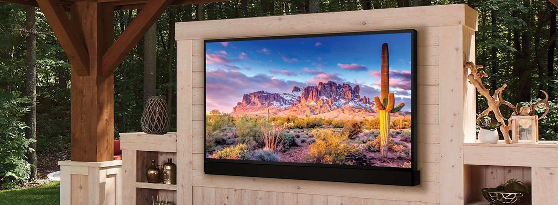 Outdoor Theater TV Installation NJ