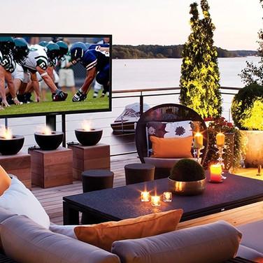 Outdoor TV Installation Bernardsville NJ