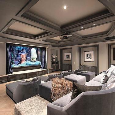 Home Theater Basement Ideas Manalapan NJ