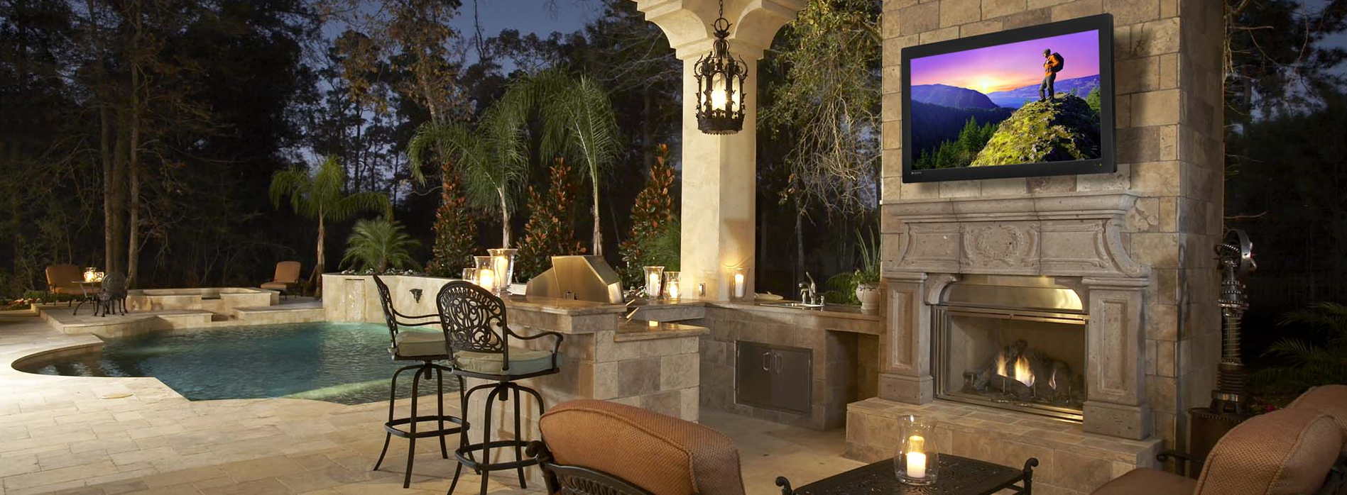 Outdoor TV Installation New Jersey