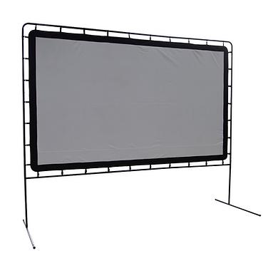Outdoor Theater Projector Screen Installation NJ.
