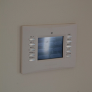 Crestron Home Automation In-Wall Touchscreen