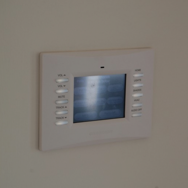Fairhaven NJ Bedroom With Crestron Home Automation