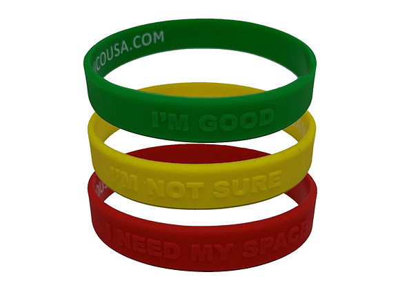 COVID Wristbands and Color Bracelet ID
