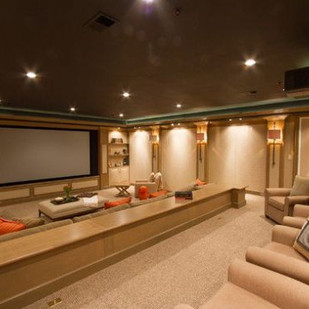 Large Home Theater Design Ideas