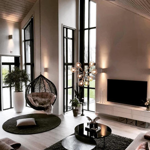 Living Room Ideas With Lutron Lighting and TV Installation