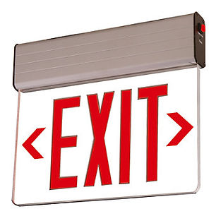 Edge Lit NYC Approved Exit Sign Supplier