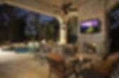 Outdoor Backyard Ideas Speaker and TV Installation NJ