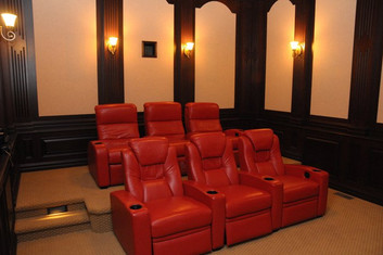 Home Theater NJ Chair Layout