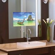 Smart Vanity Mirror TV Installation for Muttontown Jersey Shore NJ