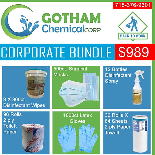 Corporate Bundle Back To Work Cleaning Package