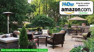 Best Complete Outdoor Landscape  style Speakers