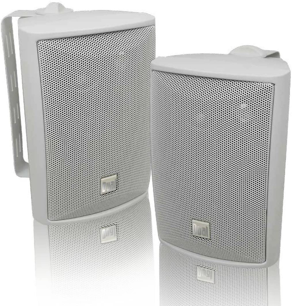 Dual Electronics Cheapest Outdoor Speakers For Surface Mount