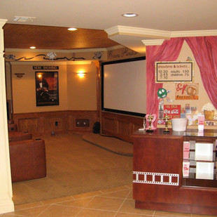 Home Theater Ideas Candy Rack