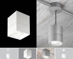 USAI Lighting Beveled Block Pendant and surface mount Fixtures
