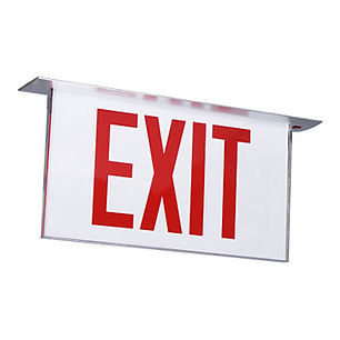 Marathon NYC Approved Exit Sign In Stock