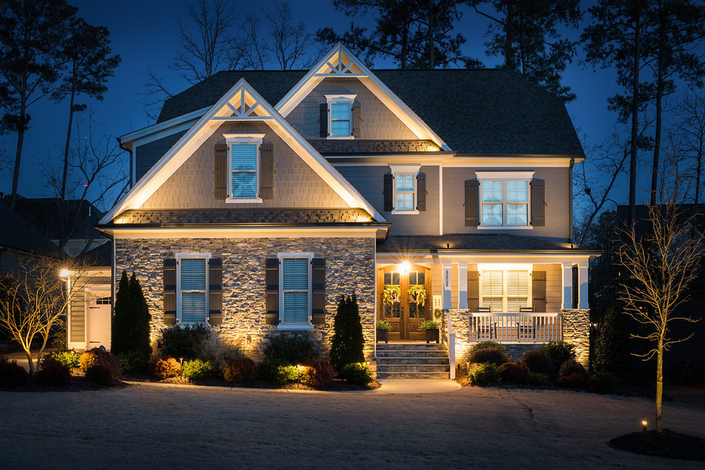 Outdoor lighting provides safety, security and the perfect ambiance.