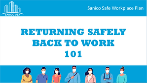 Back To Work Safety Plan After COVID